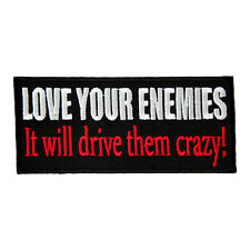 Love Your Enemies Drive Them Crazy Patch, Mind Game Patches