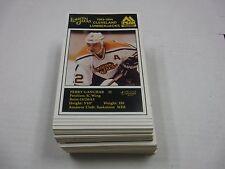 Lot Of 100+ Perry Ganchar 1993-94 Cleveland Lumberjacks Info Cards++121916jh