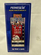 1996 MLB All Star Game MINT Full Ticket Philadelphia Phillies & Protective case