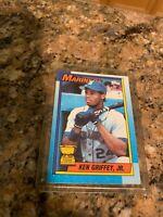 Topps Tiffany 1990 Ken Griffey Jr. Seattle Mariners #336 Baseball Card