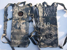 Made in USA ACU Army digital HYDRATION CARRIER 100 oz 3 L Back Pack No Bladder