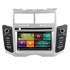 Car Dash DVD Player Radio GPS Navigation Bluetooth for Toyota Yaris 2005-2011