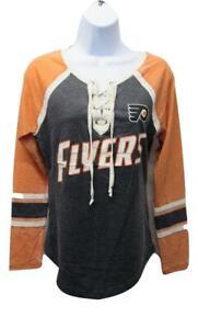 New Philadelphia Flyers Womens Sizes S-M-L Long Sleeve Shirt by Alyssa Milano