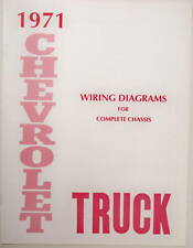 1971 Chevy truck Wiring Diagram manual