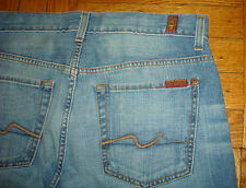 Size 29 SEVER FOR ALL MANKIND Men's Jeans BLUE 100% Authentic Boot Cut NEW 7 J