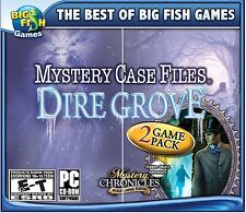 Mystery Case Files Dire Grove 2 Game Pack PC Games Windows 10 8 7 hidden object