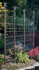 H Potter Gar120 Trellis Wrought Iron Large Garden Screen Privacy Fence Yard Art