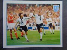 Merlin Premier League 97-Alan Shearer-Steve McManaman póster de equipo de Inglaterra #F