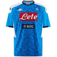 1° Maglia SSC Napoli Azzurra per Uomo 2020 Home Girocollo Camouflage Regular Fit