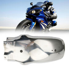 "Universal 17"" Silver Motorcycle Rear Fender Mudguard For BMW KTM Honda Chopper"