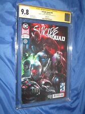 SUICIDE SQUAD #40 CGC 9.8 SS Signed Francesco Mattina~DC Comics/Variant/Superman