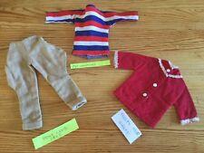 SINDY DOLL PEDIGREE CLOTHES BUNDLE VINTAGE 60s WEEKENDER PONY CLUB FROSTY NIGHTS