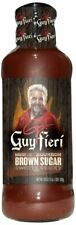 GUY FIERI, SAUCE BBQ SGR BRWN BOURBN, 19 OZ, (Pack of 6)