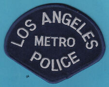 LOS ANGELES CALIFORNIA METRO DIVISION POLICE LAPD SHOULDER  PATCH