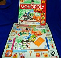 JUNIOR MONOPOLY GAME - Dog, Cat, Car, Ship, SPARES - HASBRO - Please choose:-