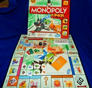 MONOPOLY JUNIOR GAME SPARES TOKENS PLAYING PIECES  - HASBRO - Please choose:-