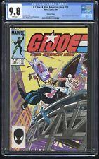 G.I. Joe ARAH #27 CGC 9.8 (Marvel 9/84) 2nd Printing, Snake Eyes Origin story