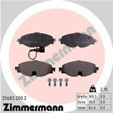 1x Bremsbelagsatz  Scheibenbremse ZIMMERMANN 25683.200.2