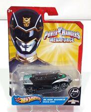 Hot Wheels Power Rangers MegaForce Black Ranger Snake Zord
