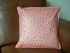 "Jane Churchill Designer Fabric Cushion Cover Pebble Design Peach Colour 16""x16"""