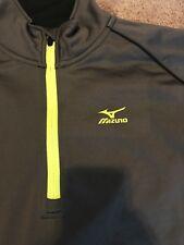 Mizuno Warmalite 1/4 Zipper Pullover Grey Size XL