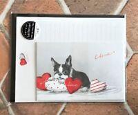 Letter Sheet Envelope Set French Bulldog Dog Stationery Japanese