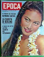 LA CADUTA DI BERLINO-EPOCA RIVISTA SETTIMANALE  -N.626 del 1961-RIF.7938