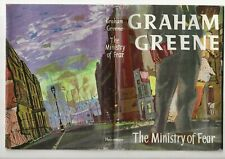 GRAHAM GREENE - MINISTRY OF FEAR - PETER EDWARDS WRAPPER - WRAPPER ONLY