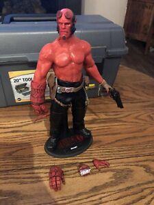 "1/6 Scale Custom Hellboy 12"" Action Figure"