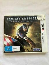 Captain America: Super Soldier - Nintendo 3DS Game