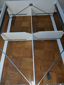 FULL size IKEA Brimnes unassembled bedframe and mattress