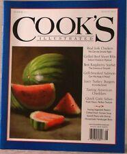 COOK'S ILLUSTRATED Magazine AUG 2012 REAL JERK CHICKEN Juicy TURKEY BURGERS