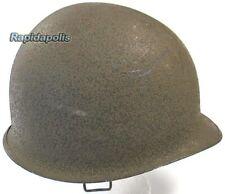 Genuine US WW2 Swivel Bail M1 Front Seam Steel Helmet, Original Paint, Lot 215B