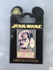 Disney Star Wars Pin Solo A Star Wars Movie We're Doing This My Way Qi'ra LE