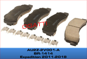 2011-2018 FRONT BRAKE PADS EXPEDITION LINCOLN NAVIGATOR OEM AU2Z-2V001-A