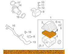 NISSAN OEM Engine-Air Cleaner Filter Element 165460Z000