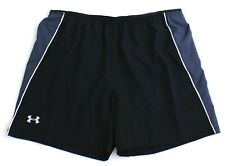 Under Armour Coolswitch Black Brief Lined Running Shorts Men's Nwt