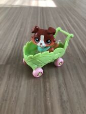 LPS Littlest Pet Shop Collie Dog RARE SAGE # 58 Paw Up Brown Tan Puppy Authentic
