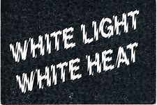 WHITE LIGHT WHITE HEAT Rave Flyer Flyers A6 13/12/91 Bentleys Bognor Regis Krome