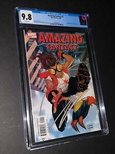 Amazing Fantasy #1 CGC 9.8 1st Appearance Arana (001)