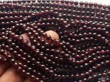 """diy 9 mm Natural  Sri Lanka Red Garnet Round Gemstone Loose Beads 15""""AA"""