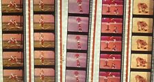 Goofy Superstars 05 - 5 strips of 5 35mm Film Cells