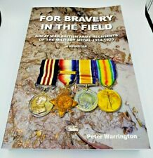 More details for for bravery in the field british army mm recipients 1914-1920 - 641 pages