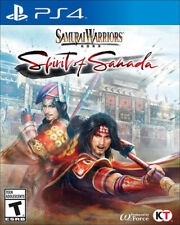 Samurai Warriors: Spirit of Sanada USED SEALED (Sony PlayStation 4, 2016)
