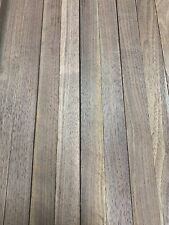 "Beautiful! 12 Boards Of  Black Walnut Lumber Dried Size: 3/4""x 2""x 18"" DIY Wood"