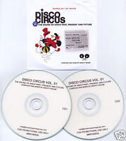 DISCO CIRCUS UK promo test 2CD Mighty Mouse Chaz Jenkel Cristina