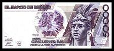 El Banco de Mexico 50,000 Pesos 20.12.1990, Series HN. P-93b. Crisp UNC