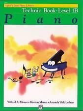 Alfred's Basic Piano Library Technic, Bk 1b by Willard Palmer (Paperback, 1984)