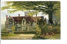 Rudyard Kipling's Residence Burwash 1907 Vintage Postcard J05