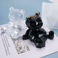 3D Bear Silicone Mould Mold DIY Resin Epoxy Jewelry Pendant Mold DIY Making